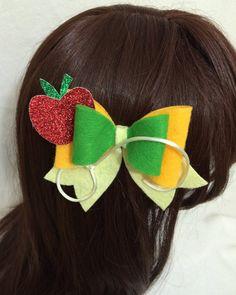 Applejack Felt Hair Bow Kawaii Cosplay Lolita by KawaNekoFashions