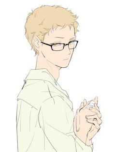 Kei Tsukishima [Karasuno] ~ Haikyuu!! (Anime, Deportes, Shonen, Volleyball)