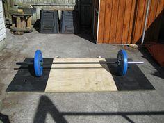 Back To Primal: Homemade lifting platform