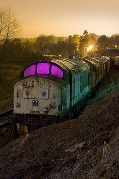 england abandon train