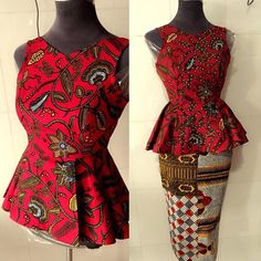 """The possibilities are endless when it comes to Ankara and this week we are inspired by Finiee couture. The """"African"""" print itself arouses a considerable measure of styles, Ankara/African prints…"""