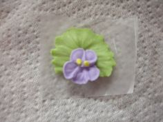 Violets - Royal Icing by thecakestylist, via Flickr