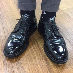 月曜日は#9901 でスタート I wear Alden black shellcordovan PTB today. #alden #オールデン #足もと倶楽部 #leathershoes #horween #shellcordovan #fashion #kicks #todayskicks #Tokyo #KOTD #aldenarmy #YOLO #tagsforlike #tflers #instagood #instadiary #instalike #instapic #instaphoto #madeinusa #leathergoods #shoestagram #instashoes #shoeporn