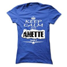 Keep Calm And Let ANETTE Handle It - T Shirt, Hoodie, H - #gift for her #creative gift. LIMITED TIME => https://www.sunfrog.com/Names/Keep-Calm-And-Let-ANETTE-Handle-It--T-Shirt-Hoodie-Hoodies-YearName-Birthday-Ladies.html?68278