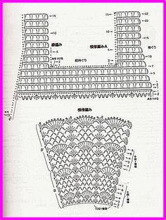 DE MIS MANOS TEJIDOS Y MAS...: Vestidito color chicle stitch dress crochet pattern