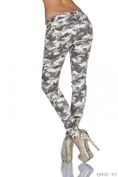 Dámské maskáčové kalhoty Vs. Miss - béžové