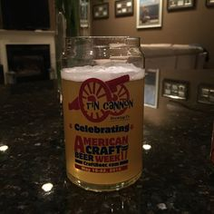 Tin Cannon's Craft Beer Week pint glass!