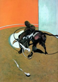 Version of Study for a Bullfight   1969 - Francis Bacon