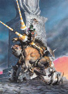 Paul Bonner - Ogre Jockey  http://www.paulbonner.net/