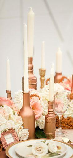 Mariage rose or