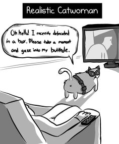 Realistic Catwoman - The Oatmeal