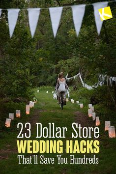 22 Dollar Store Wedding Hacks Thatll Save You Hundreds - Its no secret that weddings are freakishly expensive. Heres how to cut your wedding costs by making the dollar store your BFF. Wedding Costs, Wedding Tips, Wedding Reception, Wedding Planning, Budget Wedding Hacks, Cheap Wedding Ideas, Reception Ideas, Wedding Stuff, Dollar Store Hacks