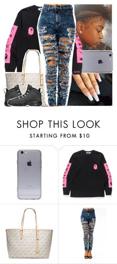 """im living two different lives, one girl in the day you at night"" by lamamig ❤ liked on Polyvore featuring MICHAEL Michael Kors and Retrò"