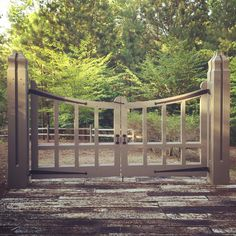 Limestone & Boxwoods - Instagram (@limestonebox) - A great gate in Birmingham designed by architect Bill Ingram.