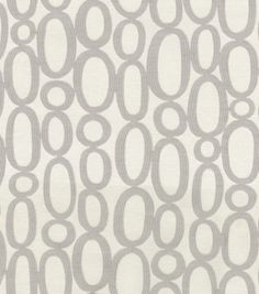 Home Decor 8''x 8'' Fabric Swatch-HGTV HOME Looped Fog, , hi-res