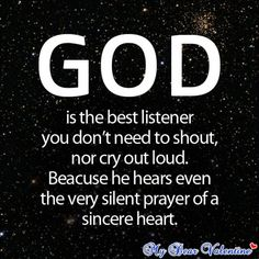 cute-life-quotes-God-is-the-best-listener