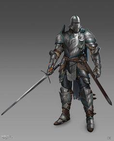 ArtStation - Knight Concept, Eoghan Cowan