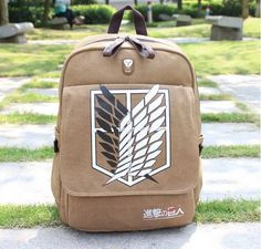 Attack On Titan Backpack Shoulder Bag - FREE SHIPPING!