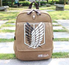 Attack On Titan Backpack Shoulder Bag - FREE SHIPPING!