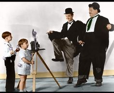 Laurel and Hardy 6 by ~ajax1946 on deviantART