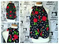 Una blusa sencilla pero preciosa! Enhorabuena Fabiola, nos encanta! #blusavaporosa #blusarosas #atadoalcuello