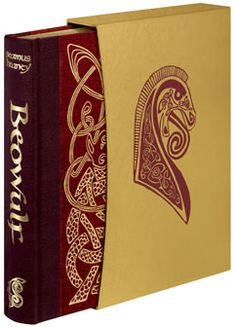 The Folio Society's Beowulf, with the classic Old English on one side, and Seamus Heaney's beautiful translation on the other side of the page.
