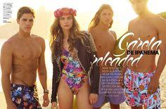 Garota de Ipanema Reloaded: Cara Delevingne by J.R. Duran for Vogue Brazil November 2012