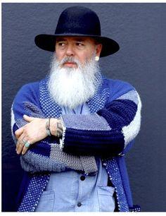 Rugged Never Smooth Mens Fashion, Fashion Outfits, Beard Fashion, Mister Ed, Beard Model, Beard Styles, Silver Man, Mens Clothing Styles, Bearded Men