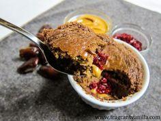 Vegan PB & J Mug Cakes