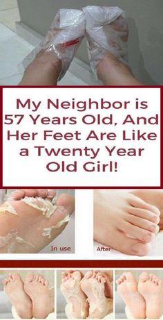 My neighbor is 57 years old and her feet are like a twenty year old girl! My neighbor is 57 years old and her feet are like a twenty year old girl! Beauty Kit, Diy Beauty, Beauty Hacks, Beauty Care, Beauty Ideas, Homemade Beauty, Beauty Secrets, Beauty Guide, Face Beauty