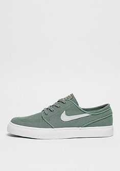 best authentic e2a89 e4054 NIKE SB Zoom Stefan Janoski Canvas Deconstructed clay green barely g