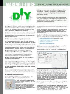 E-juice DIY | VAPE News Magazine