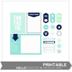 Fantastic Printables by Hello Forever by Two Peas - Two Peas in a Bucket