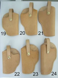 Leather Gun Holsters Ultra Small to Large Caliber Handguns image 3 Xds 45 Holster, Holsters, Leather Holster, Leather Projects, Custom Leather, Leather Craft, Hand Guns, Sunglasses Case, Etsy