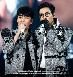 Seungri and TOP ♕ #BIGBANG // @ Kyocera Dome (140111-13)