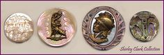 ButtonArtMuseum.com - Gorgeous hand-carved 19th century pearl buttons from Shirley Clark's collection