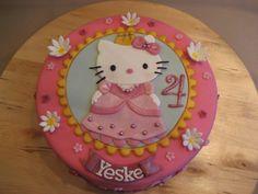 Zo'n taart wil Sanne graag voor haar 5de verjaardag :-)