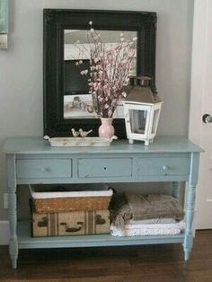Entry Way Sofa Table Broyhill Table Repurposed With Annie