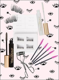 9416ff9fe65 how to apply false eye lashes magnetic by the skinny confidential
