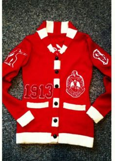 1000 images about i love my dst on pinterest delta - Delta sigma theta sorority cardigans ...
