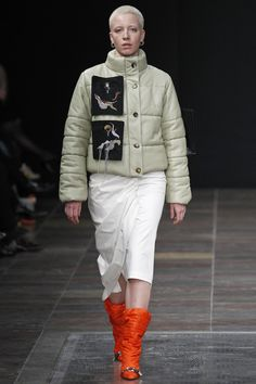 Freya Dalsjø Copenhagen Fall 2016 Fashion Show Winter Fashion 2016, Autumn Fashion, Down Puffer Coat, Fashion Show Collection, Light Jacket, Fall 2016, Eminem, Women Wear, Winter Jackets