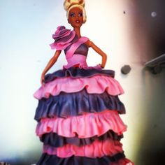 RuPaul Barbie cake