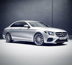 The next evolution of the automobile.  #Mercedes #Benz #EClass #2017 #Instacar #carsofinstagram #germancars #luxury