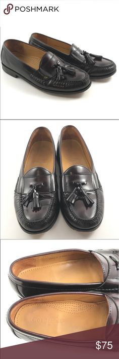 ‼️WEEKEND SALE‼️ Cole Haan Pinch Tassel Loafers Grab these Cole Haan Pinch Tassel Loafers before they are gone!  They never last long around here. They are pre-owned but in amazing condition. They are a Men's size 9. Cole Haan Shoes Loafers & Slip-Ons