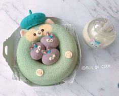 Cute Snacks, Cute Desserts, Cute Food, Kawaii Cooking, Cute Baking, Kawaii Dessert, Disneyland Food, Bento, Edible Food
