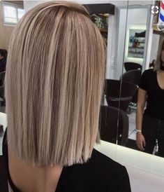 Image result for blunt cut medium length