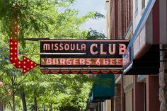 """Best burger in the United States at the one and only Missoula Club. (Or as it's known around here, the """"Mo Club"""")."""