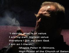 satanic quotes | Satanic Quotes And Sayings Like. magus peter h. gilmore