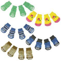 Hot Winter 4PCS Pet Dog socks Cute