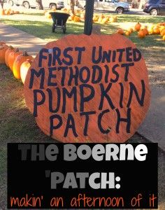 The Boerne Pumpkin Patch: Inside Tips about a Great Way to Spend the Afternoon